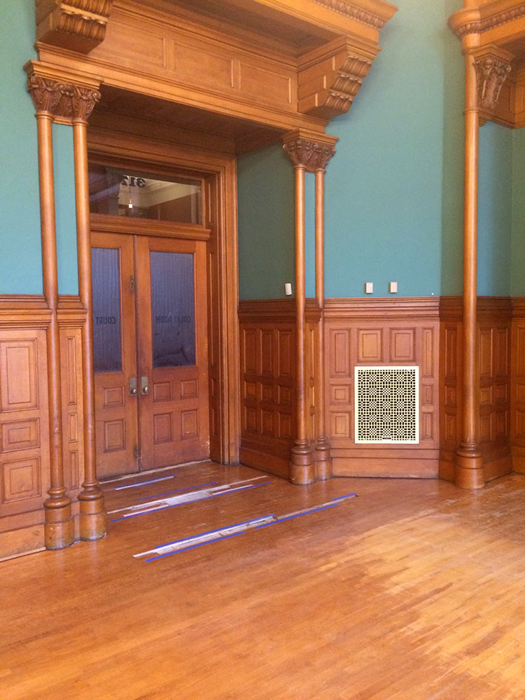 Landmark Center - Courtroom 317 - before