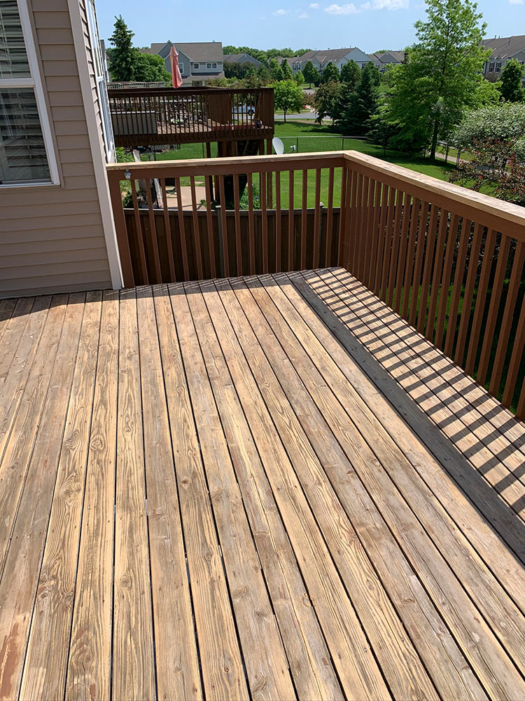 Deck Renewal - during